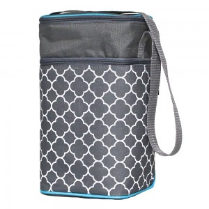 6 BOTTLE COOLER - Clover Grey/ Teal