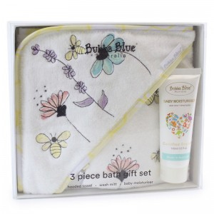 BEE BEAUTIFUL 3PC BATHTIME GIFT SET