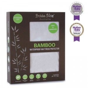 BAMBOO WATERPROOF COT MATTRESS PROTECTOR