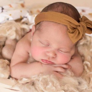 TOP KNOT HEADBAND – mustard