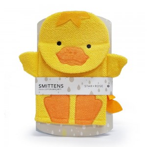 STAR & ROSE  DUCK BATH MITT