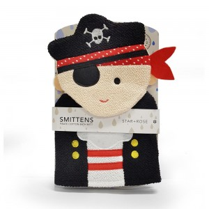 PIRATE  BATH MITT