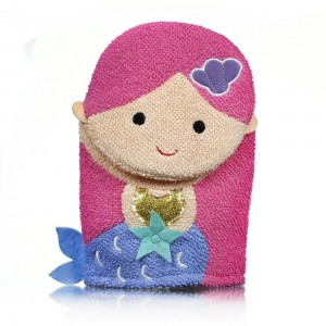 MERMAID BATH MITT