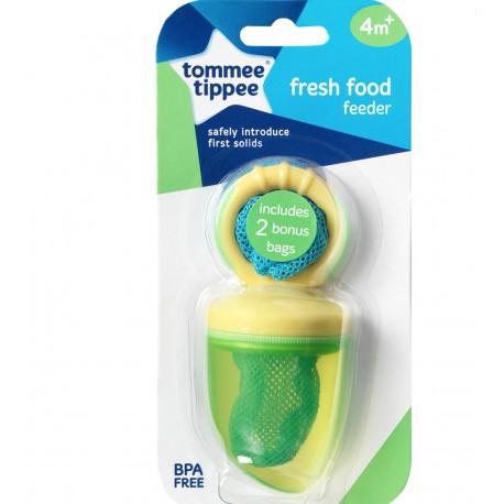 Tommee Tippee Fresh Food Feeder Yellow Green Baby Bean
