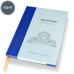 DEAR DAD (Timeless Collection) hardback memory journal