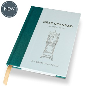 DEAR GRANDAD  (Timeless Collection) hardback memory journal