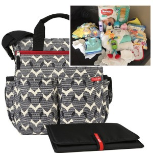 """PICK UP & GO"" COMPLETE - HEART SIGNATURE BABY BAG"