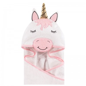 HOODED TOWEL - sweet unicorn