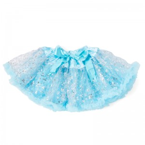 SNOW PRINCESS PETTISKIRT / TUTU - blue 0-12 months