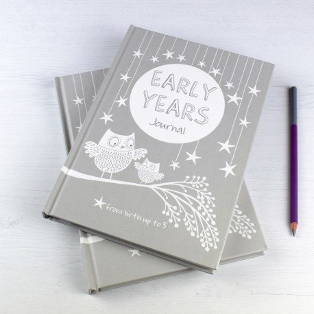 EARLY YEARS  baby to five years record journal & notebook (blue)