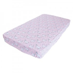 FITTED COT SHEET – Unicorn