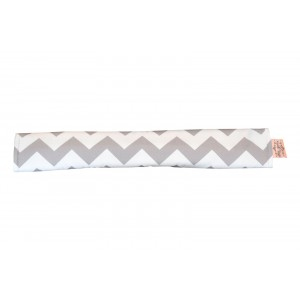 PRAM BAR COVER – Grey Chevron