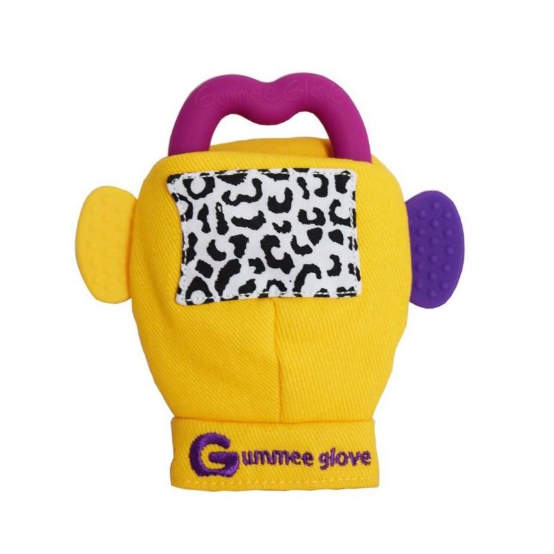 Gummee Glove Yellow Baby Bean Bags