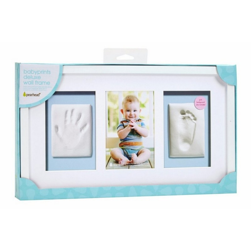 BABY PRINTS DELUXE WALL FRAME - white | BABY BEAN BAGS