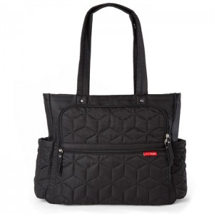 PACK & GO NAPPY TOTE BAG – black