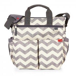 DUO SIGNATURE NAPPY BAG – chevron