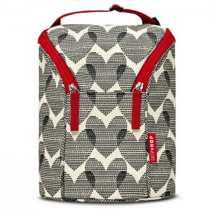 GRAB & GO DOUBLE BOTTLE BAG - Hearts
