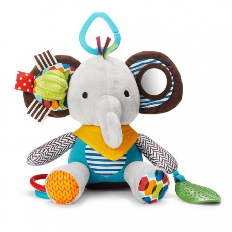 PLAYTIME BANDANA BUDDIES STROLLER TOY – Elephant