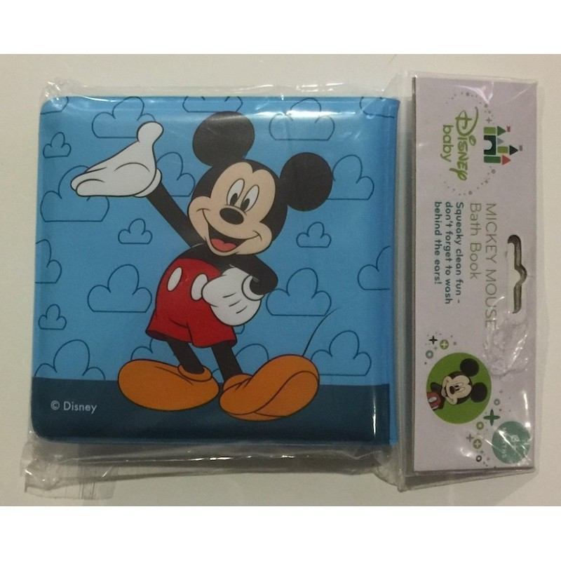 ... Disney Baby Mickey Mouse Bath Book
