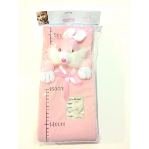 Plush Bunny Growth Chart