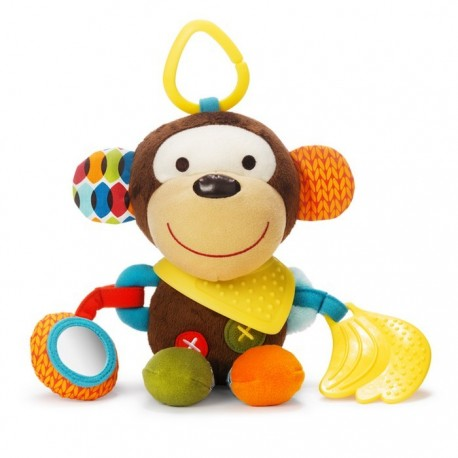 PLAYTIME BANDANA BUDDIES STROLLER TOY – Monkey