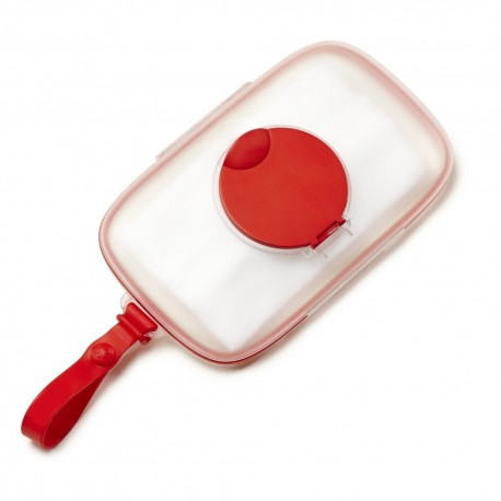 SKIP HOP GRAB & GO PERFECT SEAL WIPES CASE – red