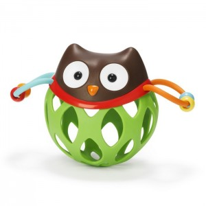 SKIP HOP EXPLORE & MORE ROLL- AROUND RATTLE - owl
