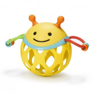 SKIP HOP EXPLORE & MORE ROLL- AROUND RATTLE - bee