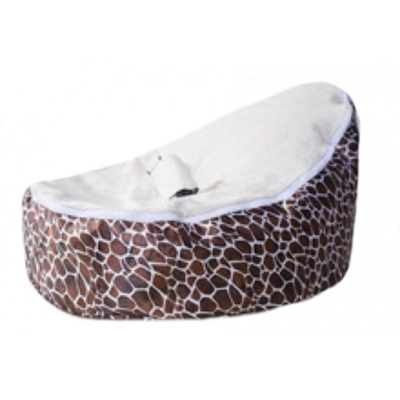 Excellent Giraffe Cream Baby Bean Bag Dailytribune Chair Design For Home Dailytribuneorg