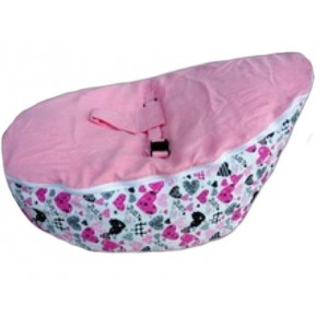 Incredible Heart Pink Baby Bean Bag Camellatalisay Diy Chair Ideas Camellatalisaycom